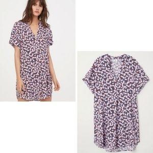 [Anna Glover H&M] Floral Print Shirt Dress